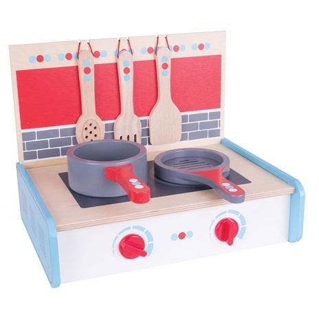 Bigjigs Toys Dřevěné hračky - Kuchyňský vařič