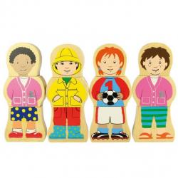 Bigjigs Toys drevené puzzle - Národnosti