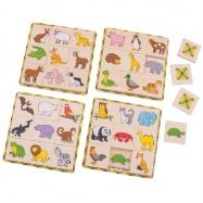 Bigjigs drevené hry - Loto