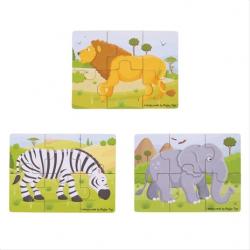Safari zvířátka 3 v 1