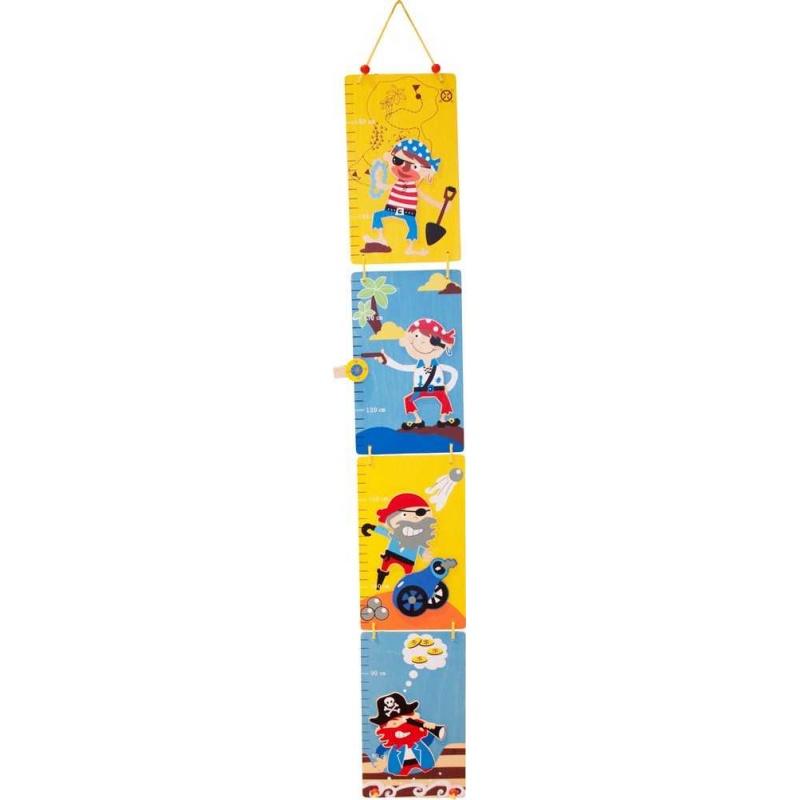 80f1a84d32216 Bigjigs detský drevený skladací meter - Piráti