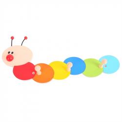 Bigjigs Toys - vešiačiky húsenica