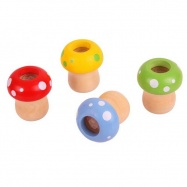 Bigjigs Toys - kalejdoskop grzybek