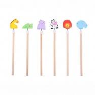 Bigjigs Toys Veselá tužka Safari 1ks