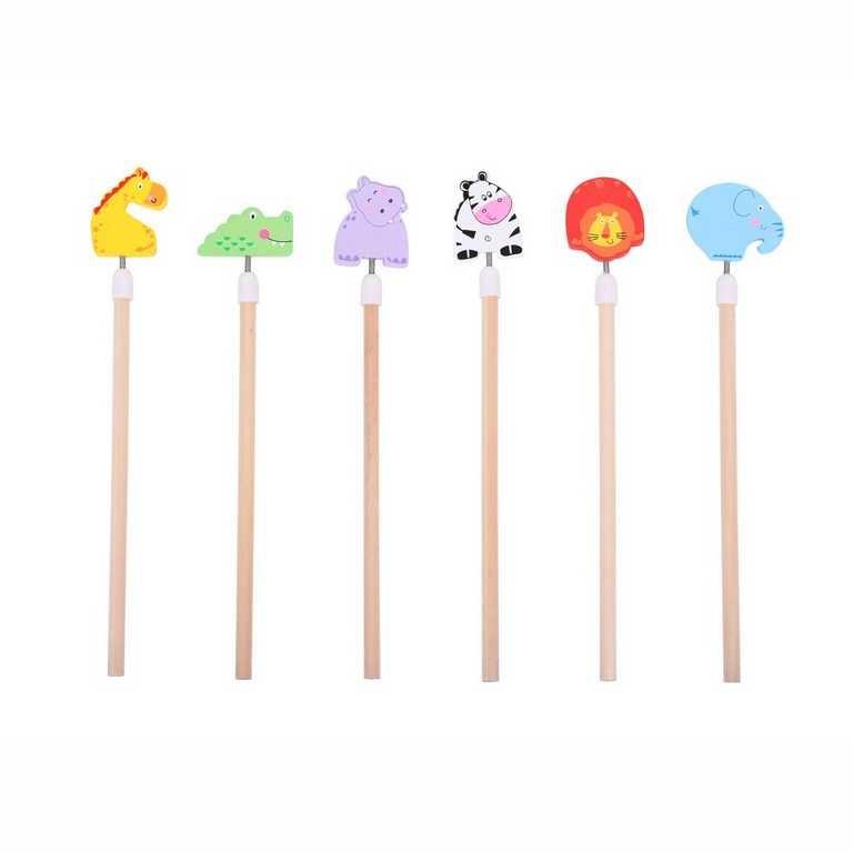 Bigjigs Toys veselé tužky Safari