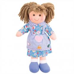 Bigjigs Toys látková bábika Grace 25 cm