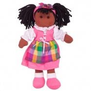 Bigjigs Toys látková panenka Jessika 25 cm