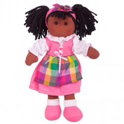 Bigjigs Toys látková bábika Jessika 25 cm