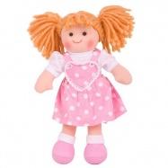 Bigjigs Toys látková panenka Ruby 30 cm