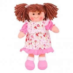 Bigjigs Toys látková bábika Amy 25 cm