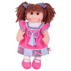 Bigjigs Toys látková bábika Emma 38 cm