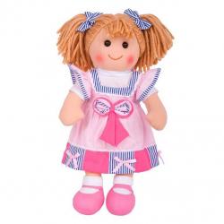 Bigjigs Toys látková bábika Georgie 38 cm