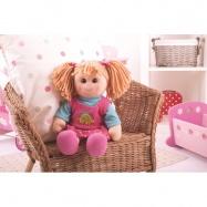 Bigjigs Toys látková panenka Susie 38 cm