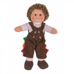 Bigjigs Toys látková bábika Jack 25 cm