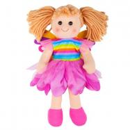 Bigjigs Toys Látková panenka Chloe 34 cm