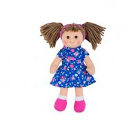 Bigjigs Toys Látková panenka Hollie 28 cm