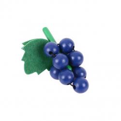 Bigjigs Toys dřevěné potraviny - Hroznové víno