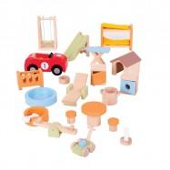Bigjigs Toys dřevěné hračky panenky