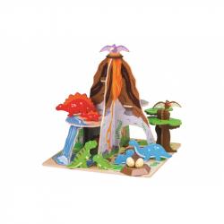 Bigjigs Toys Dinopark ostrov dinosaurov