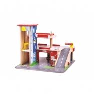 Bigjigs Toys Garáž s parkoviskom