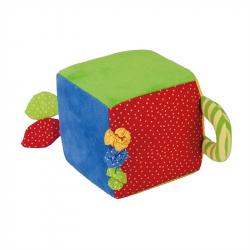 Bigjigs Toys textilná aktívna kocka