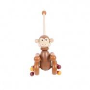 Tahací hračky - Jezdík - Opička