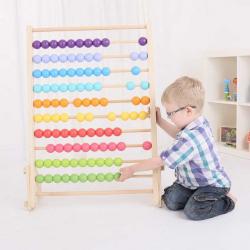 Bigjigs Toys Duże drewniane liczydło