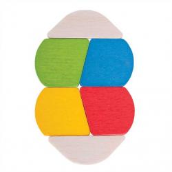 Bigjigs Toys - drevená hračka Prvý Twister