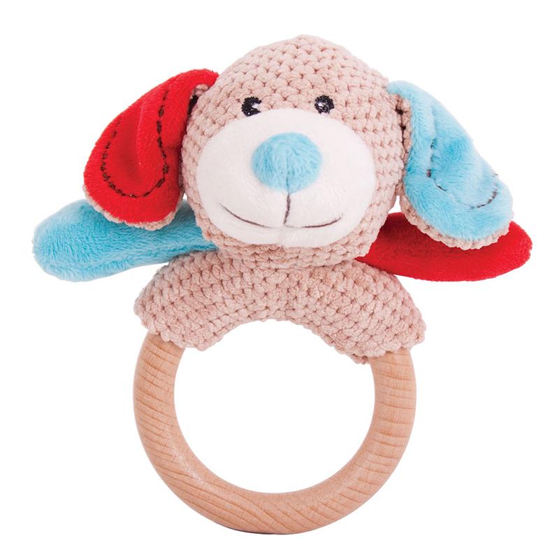 Bigjigs Toys - Hrkálka krúžok psík Bruno