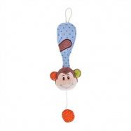 Bigjigs Toys - Klips na cumlík opička Cheeky