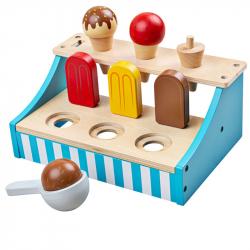 Bigjigs Toys Stojan so zmrzlinou