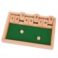 Bigjigs Toys drevená hra v kocky