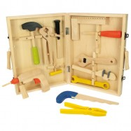 Bigjigs Toys drevené hračky - Kufrík s náradím
