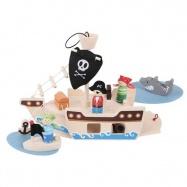 Drevená hračka - Hrací set Piráti