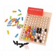 Bigjigs Toys drevená hra - Logik