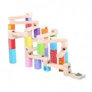 Bigjigs Toys drevená guličková dráha