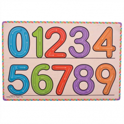 Bigjigs Toys - Jak się piszą cyfry