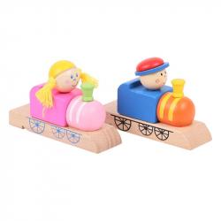 Bigjigs Toys Drewniany gwizdek kolejarski 1 szt