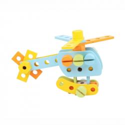 Bigjigs Dřevěné hračky - Konstrukční sada 51 dílů