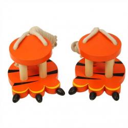zabawki drewniane Tiger Footwalkers - szczudła