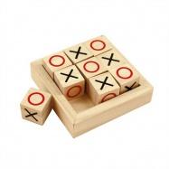 Bigjigs Toys Drewniana gra kółko krzyżyk