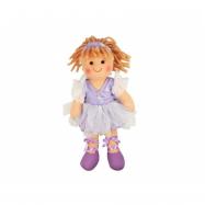 Bigjigs Toys Látková panenka Violet  28 cm