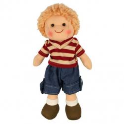 Bigjigs Toys látková bábika Harry 25 cm