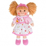 Bigjigs Toys látková panenka Kelly 35 cm