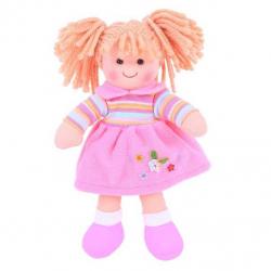 Bigjigs Toys látková bábika Jenny 25 cm