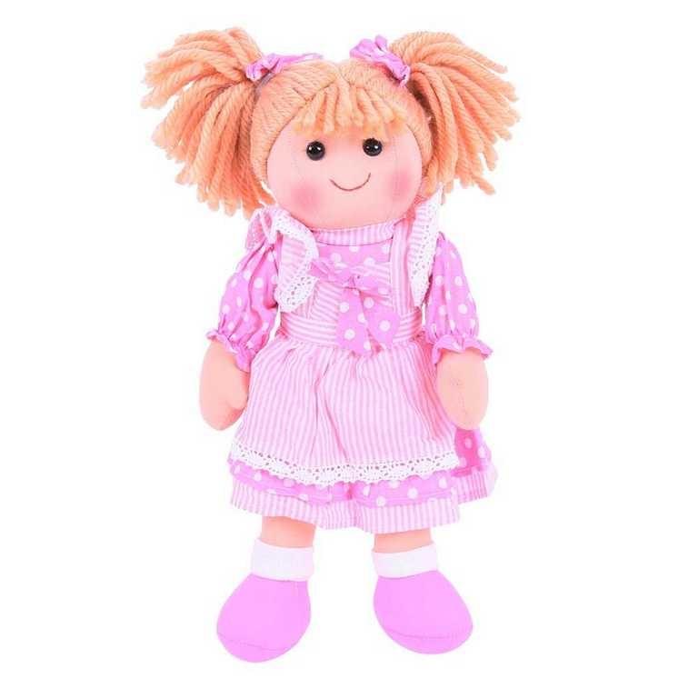 Bigjigs Toys látková panenka Anna 35 cm