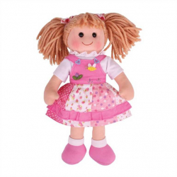 Bigjigs Toys látková bábika Hayley 35 cm