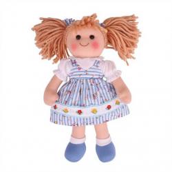 Bigjigs Toys látková bábika Christina 35 cm