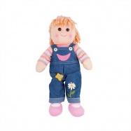 Bigjigs Toys látková panenka - Penny 38 cm