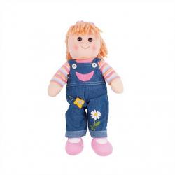Bigjigs Toys látková bábika - Penny 38 cm